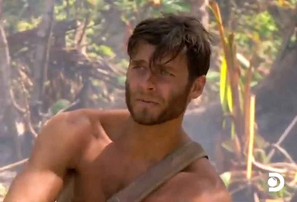 Marco on Treasure Island with Bear Grylls