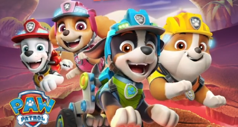 paw patrol instagram post