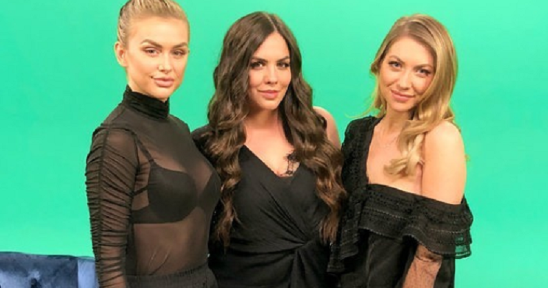 stassi schroeder with katie maloney and lala kent on instagram post