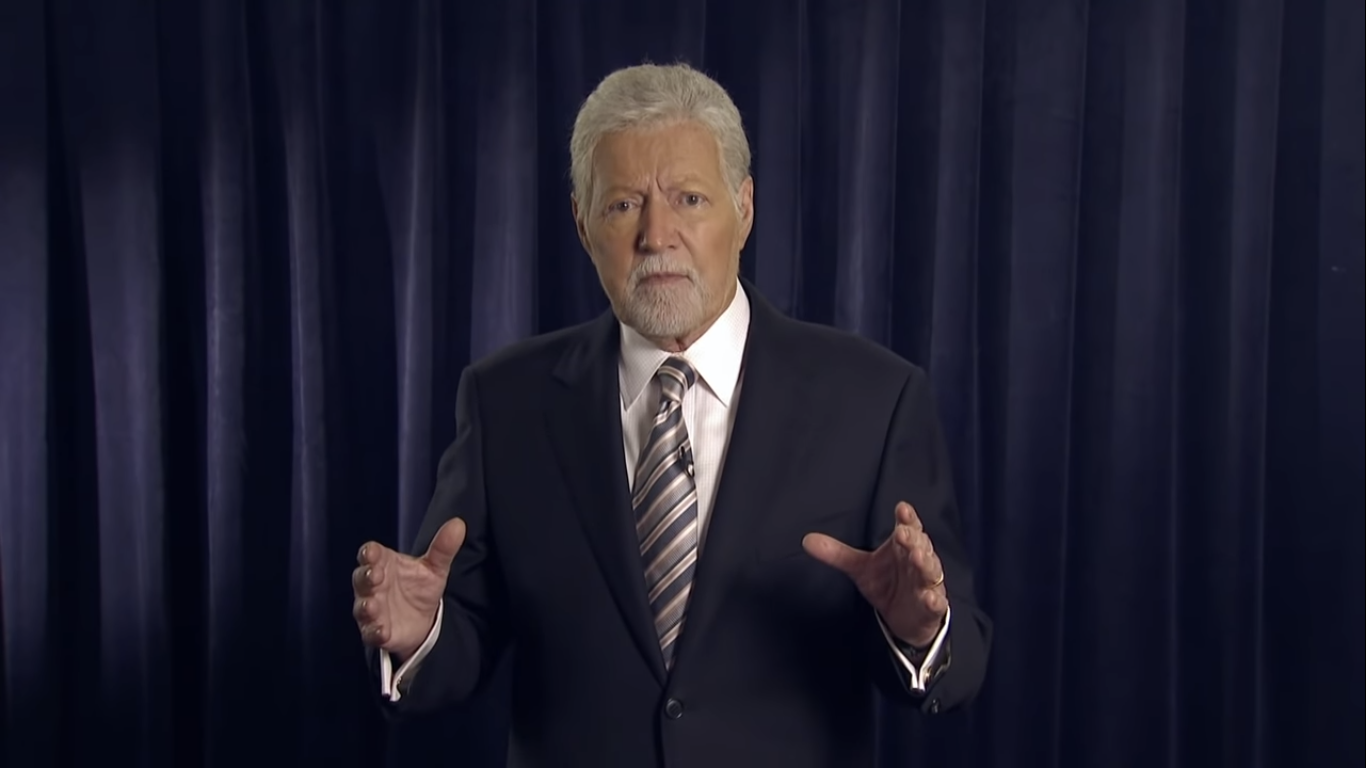Alex Trebek from Youtube