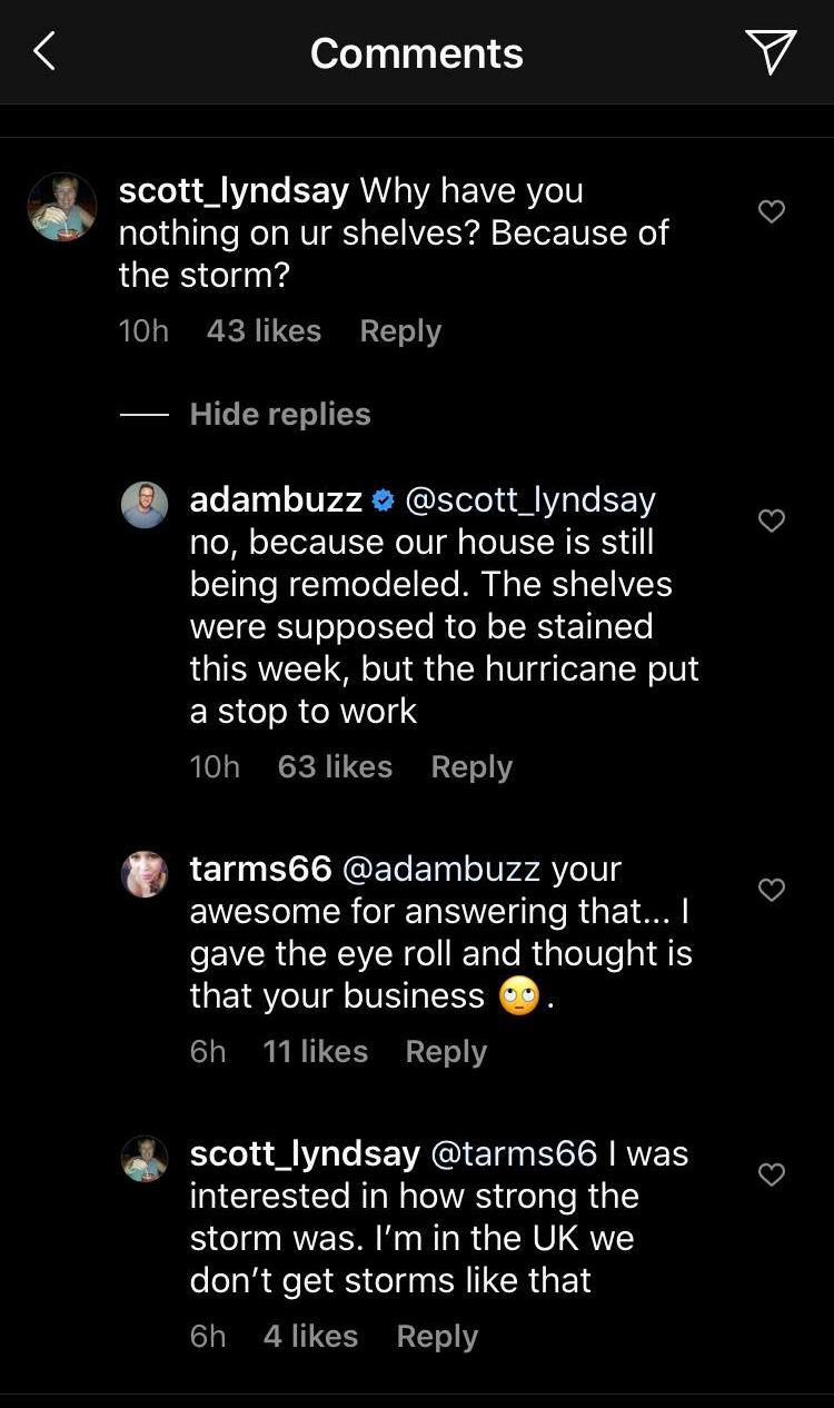 Adam Busby Instagram