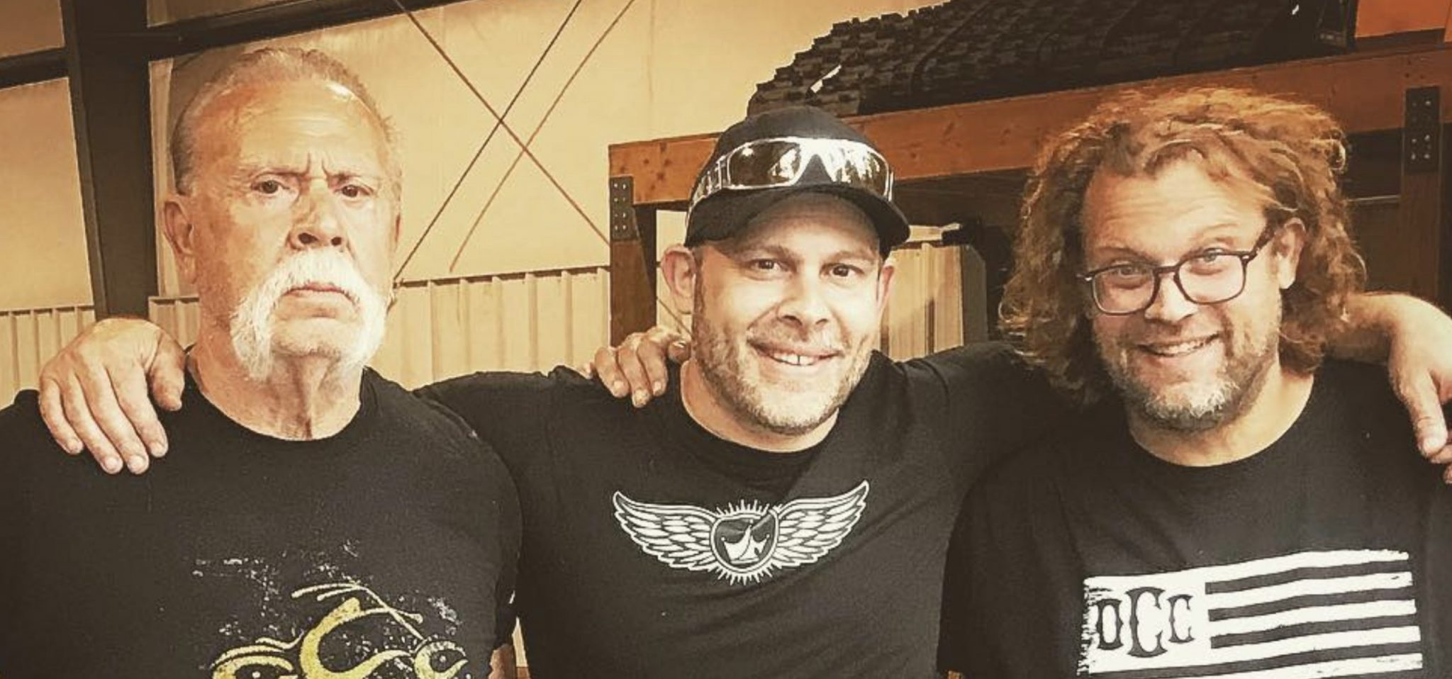 American Chopper, The Last Ride, Paul Teutul Jr, Paul Teutul Sr, Mikey Teutul, Discovery-https://www.instagram.com/p/BocYEScHOix/