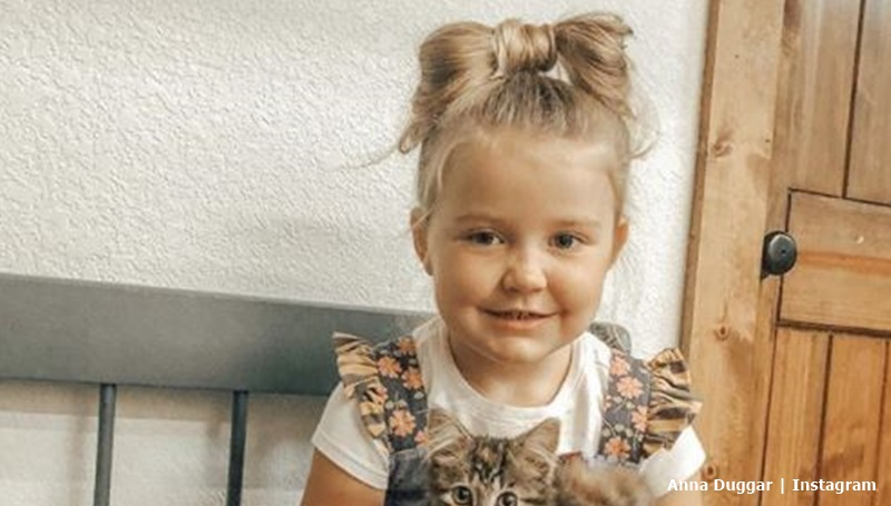 Anna Duggar daughter meredith