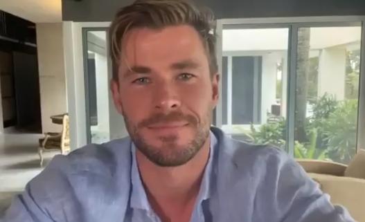 Chris Hemsworth from Instagram