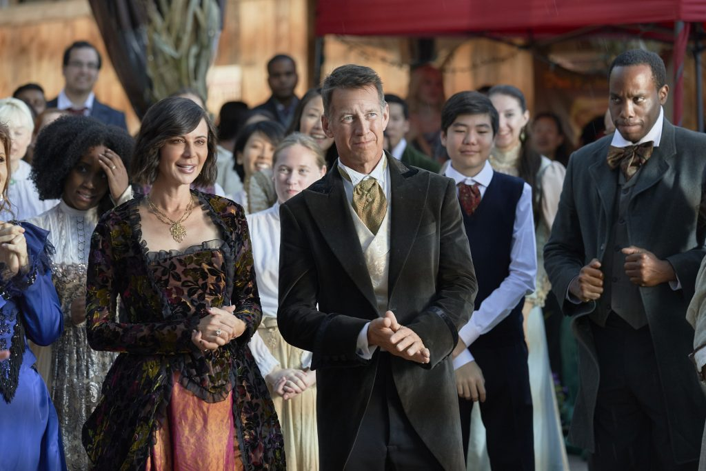 Hallmark, Good Witch Halloween, Photo: Catherine Bell, James Denton Credit: ©2019 Crown Media United States LLC/Photographer: Ben Mark Holzberg