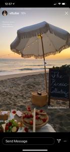 Final four picnic via Instagram Stories