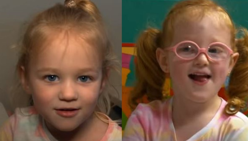 OutDaughtered Riley and Hazel Busby