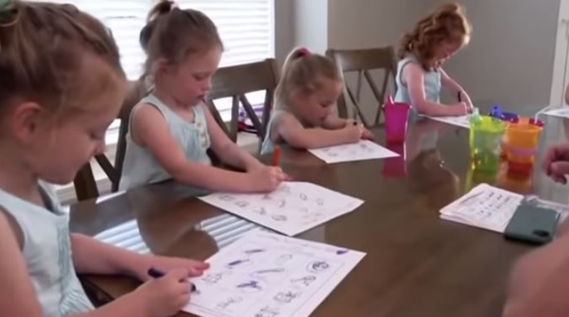 OutDaughtered quints go to Kindergarten
