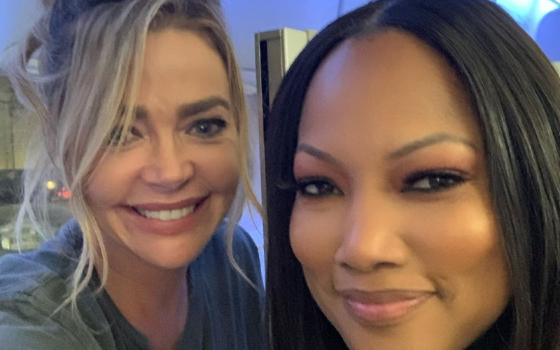RHOBH Denise Richards and Garcelle Beauvais Instagram