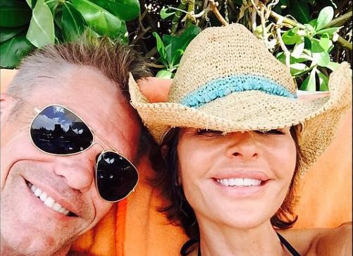 RHOBH Harry Hamlin and Lisa Rinna Instagram
