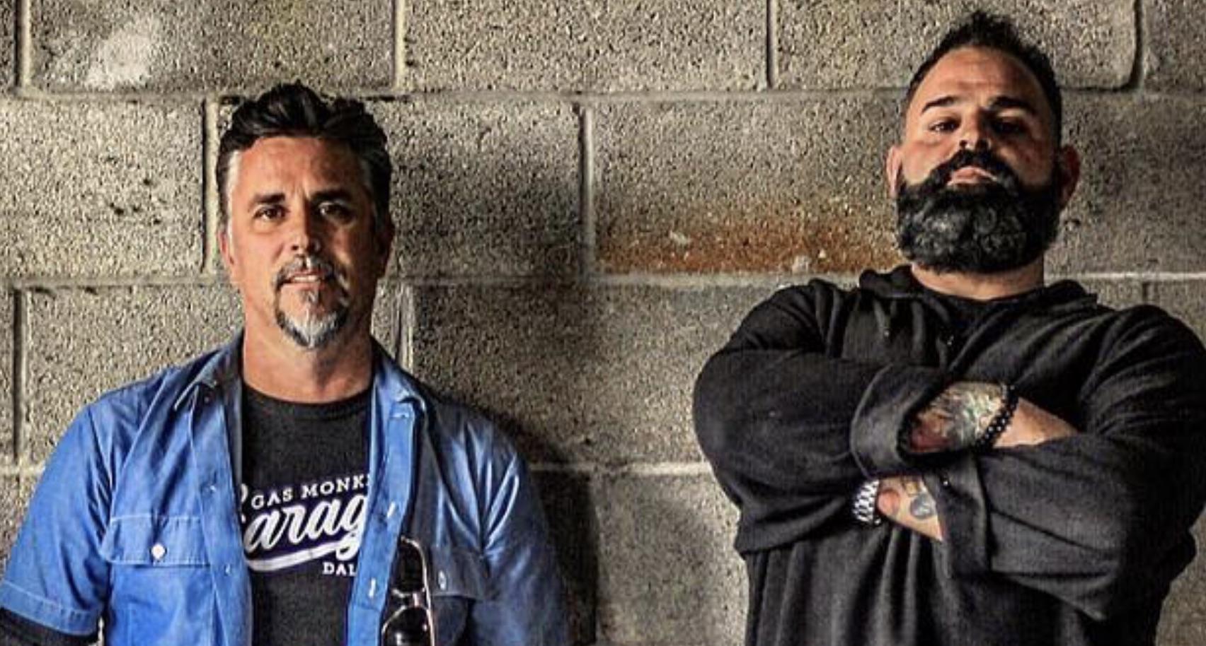 Richard Rawlings, Russell J Holmes, Garage Rehab-https://www.instagram.com/p/BX-hgr2lj0G/