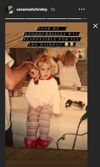 Savannah Chrisley little girl