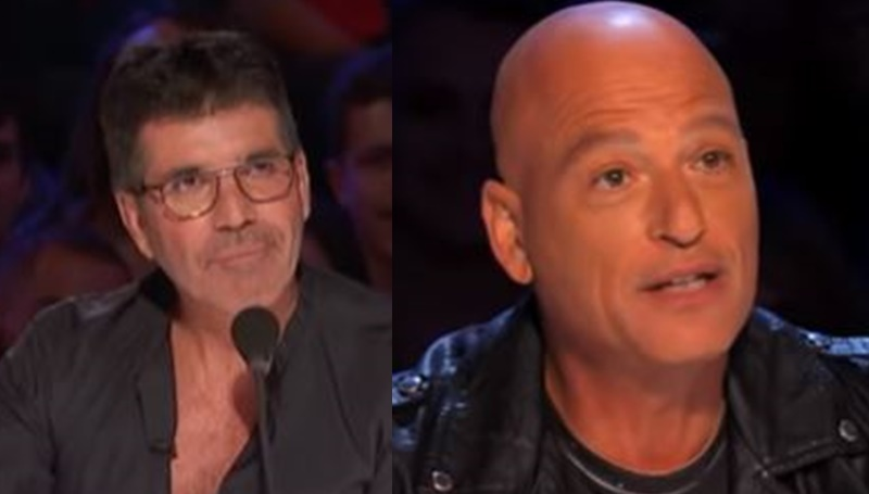 Simon Cowell gift from Howie Mandel