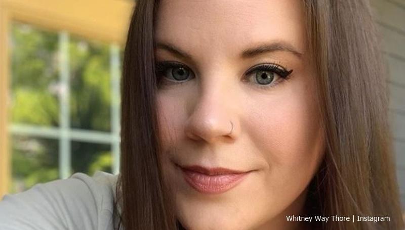 Whitney Way Thore on makeup