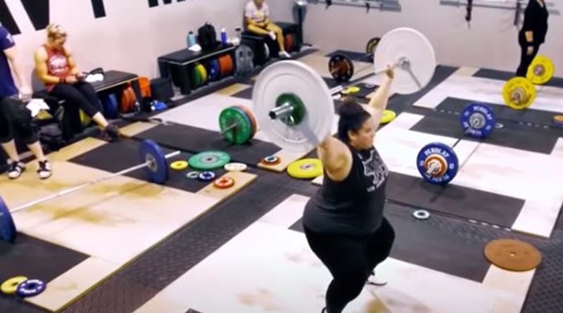 Whitney Way Thore weightlifting sponsor