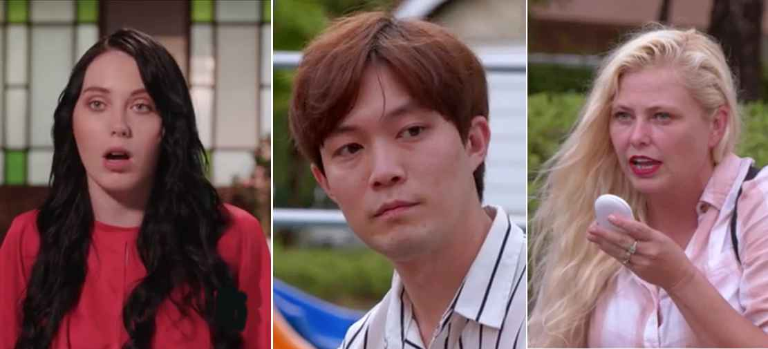 Deavan, Jihoon and Elicia of 90 Day Fiance: The Other Way