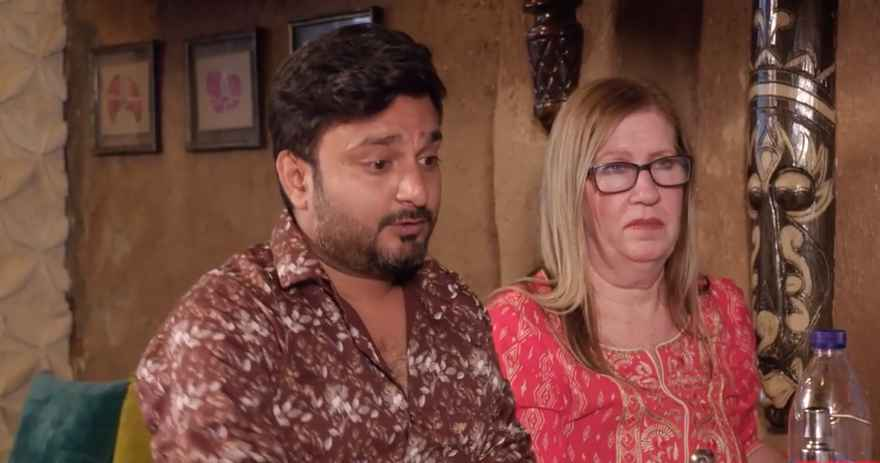 Jenny and Sumit from 90 Day Fiance: The Other Way
