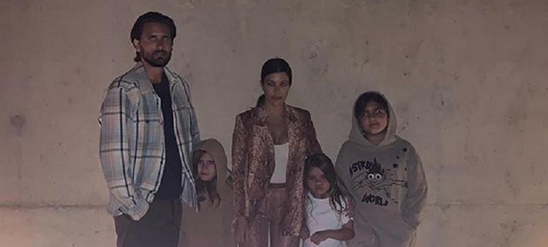 kourtney kardashian and scott disick instagram