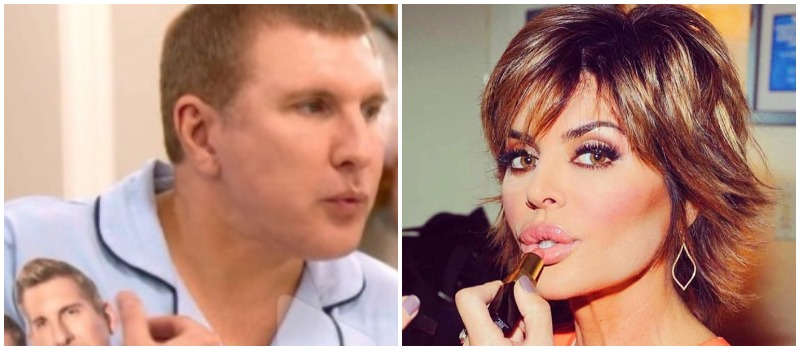 Todd Chrisley and lisa rinna Instagram