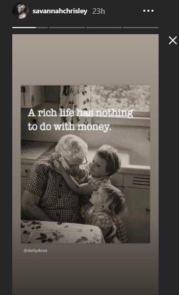 savannah chrisley on riches