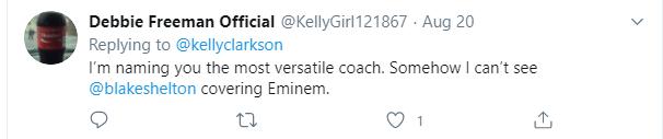 Kelly Clarkson Tweet Response