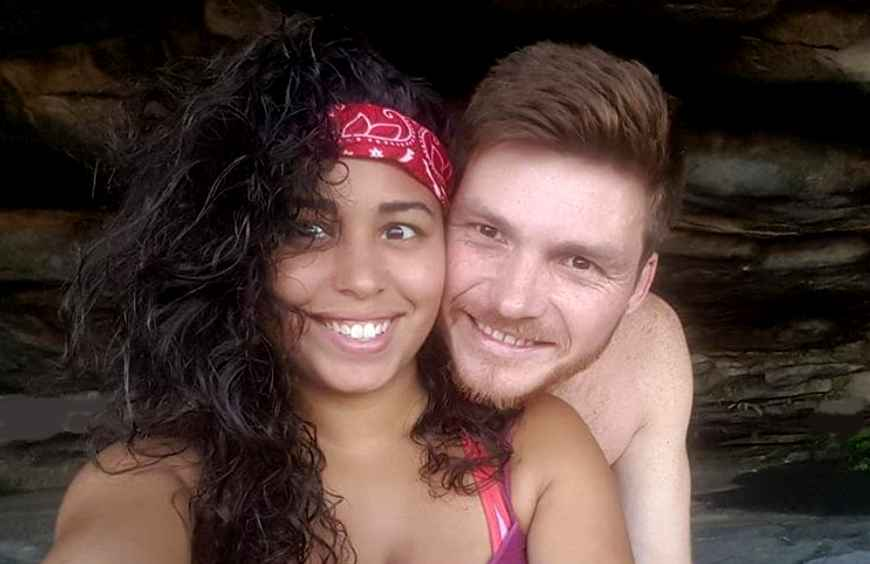 90 Day Fiance stars Tania and Syngin on a previous visit to Cape Town