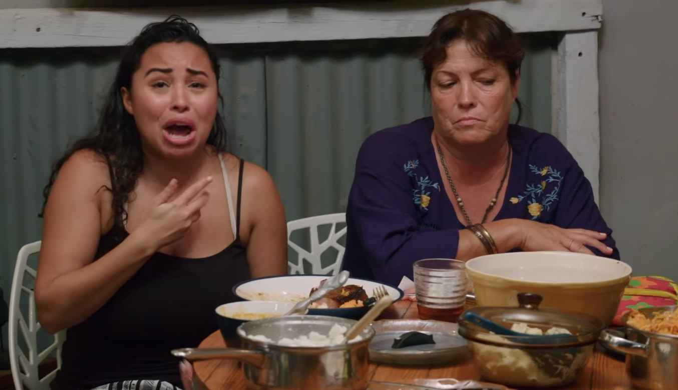 Tania and Syngin argue at a family braai on 90 Day Fiance: Happily Ever After