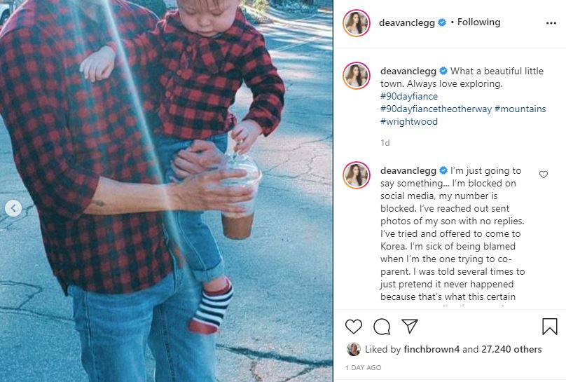 90 Day Fiance Deavan baby and boyfriend