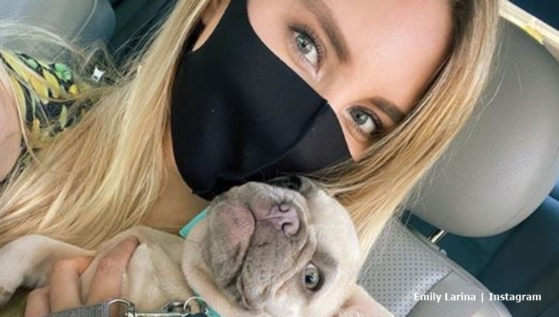 90 Day Fiance Emily Larina Frenchie Dog