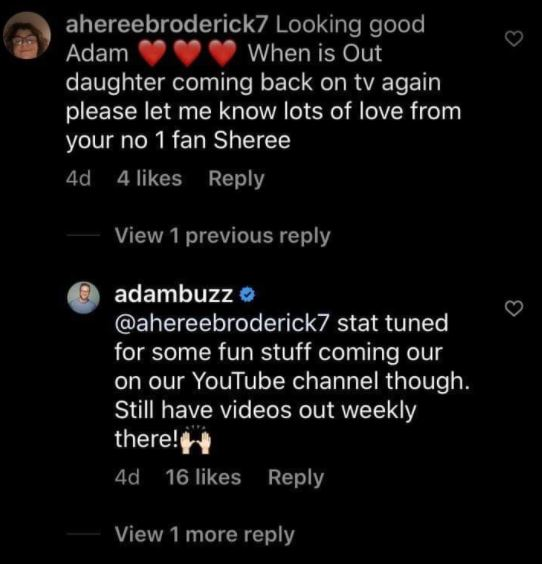 Adam Busby teases content on Its a BuzzWorld