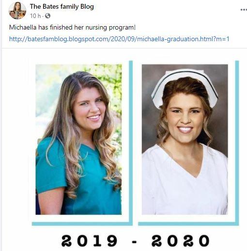 Bringing Up Bates Michaella nurse