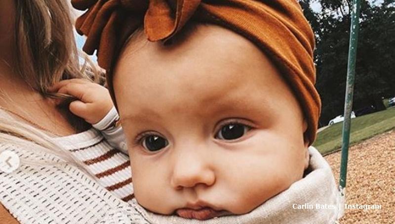 Calin Bates baby Layla