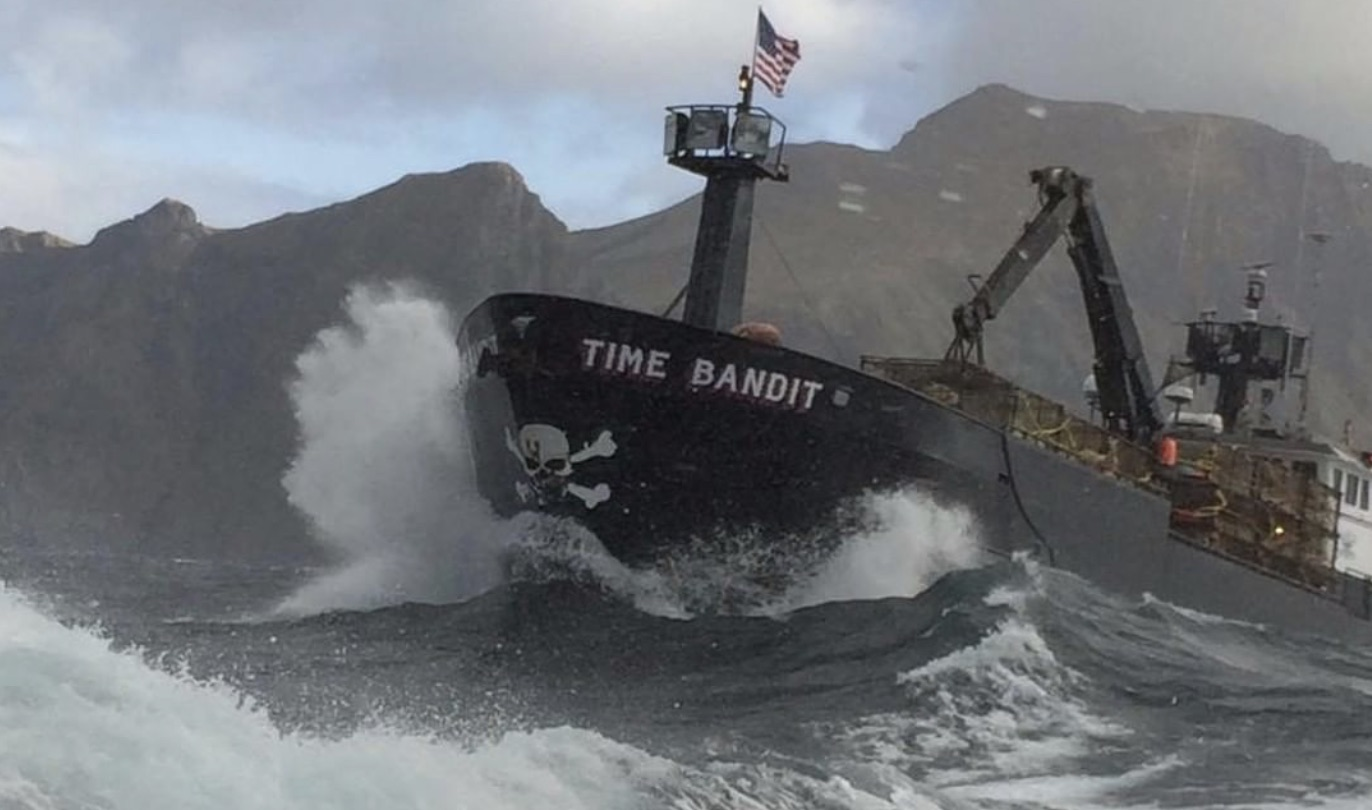 Deadliest Catch, Time Bandit-https://www.instagram.com/p/CAjEt2dogpI/