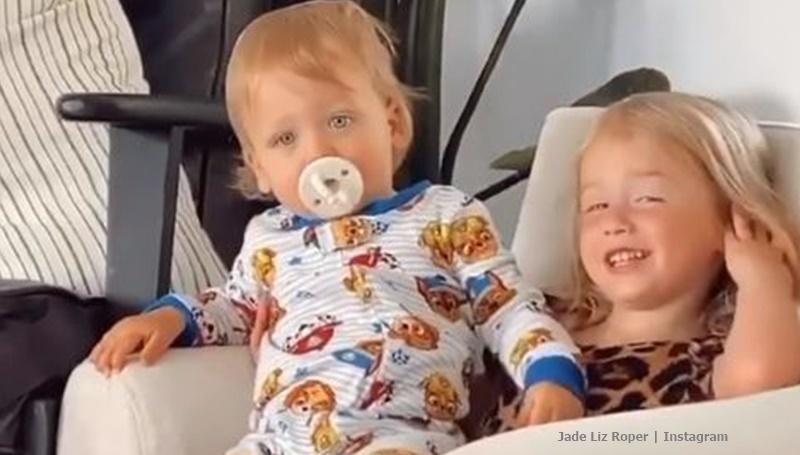 Jade Roper kids Brooks and Emmy