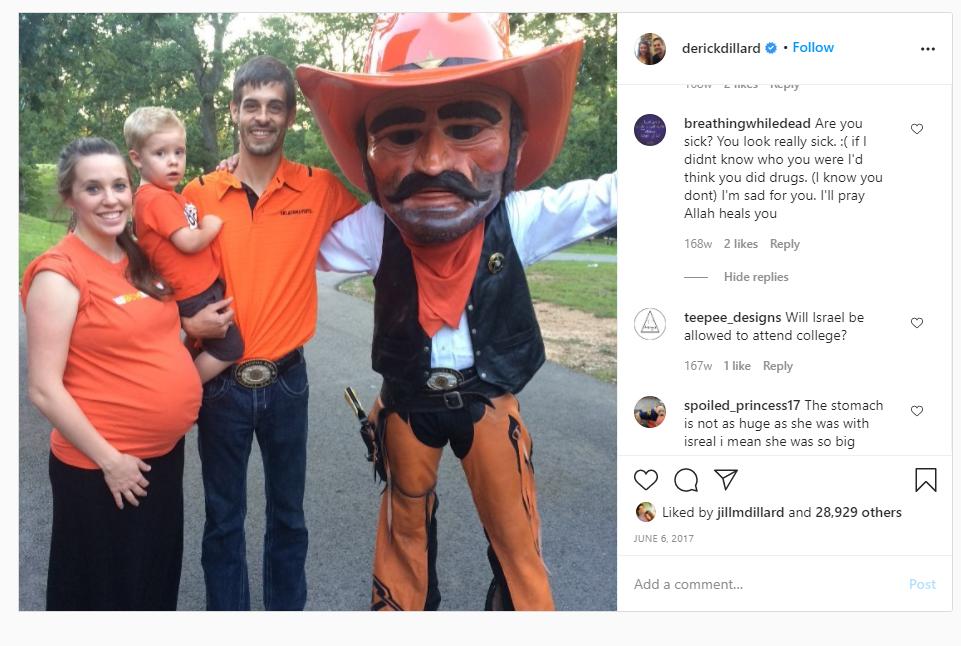 Jill Duggar Instagram 2017