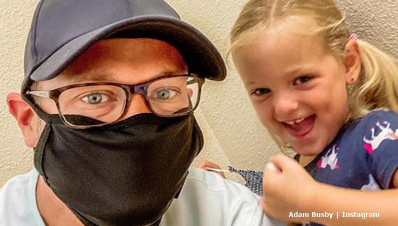 OutDaughtered Adam Busby gets creative
