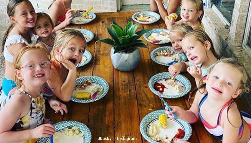 OutDaughtered Busby girls party