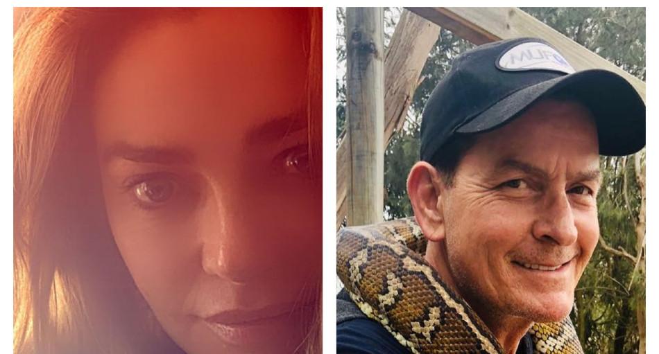 RHOBH Denise Richards, Charlie Sheen Instagram