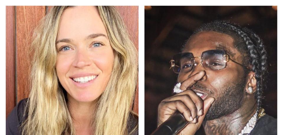 RHOBH Teddi Mellencamp and rapper Pop Smoke Instagram collage