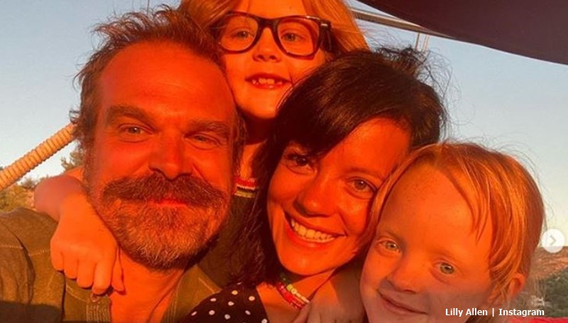 Stranger Things David Harbour And Lilly Allen Marriage License