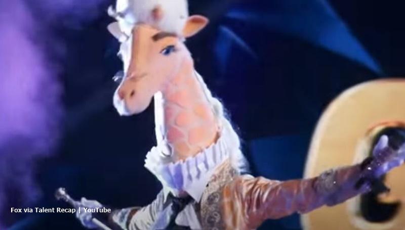 The Masked Singer Giraffe
