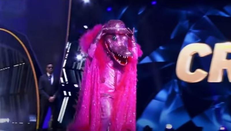 The Masked Singer pink Crocodile