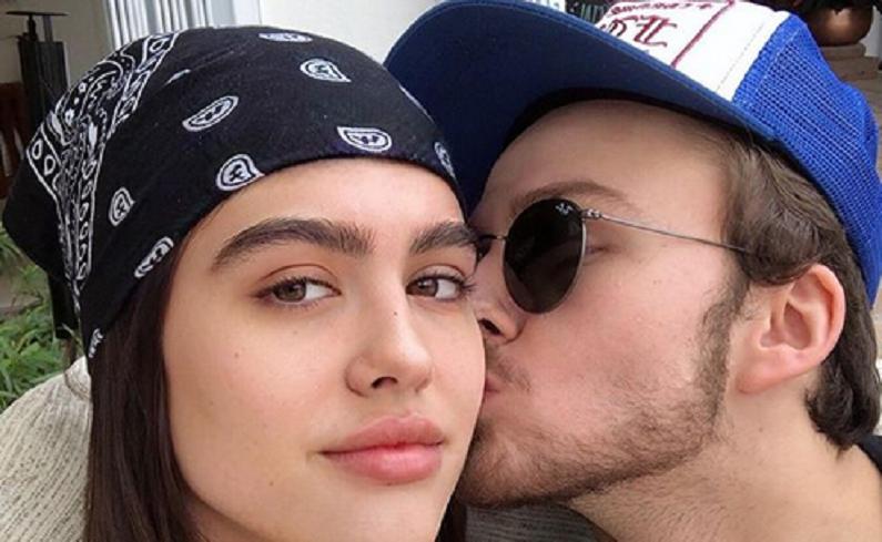 amelia gray hamlin and boyfriend mercer instagram selfie