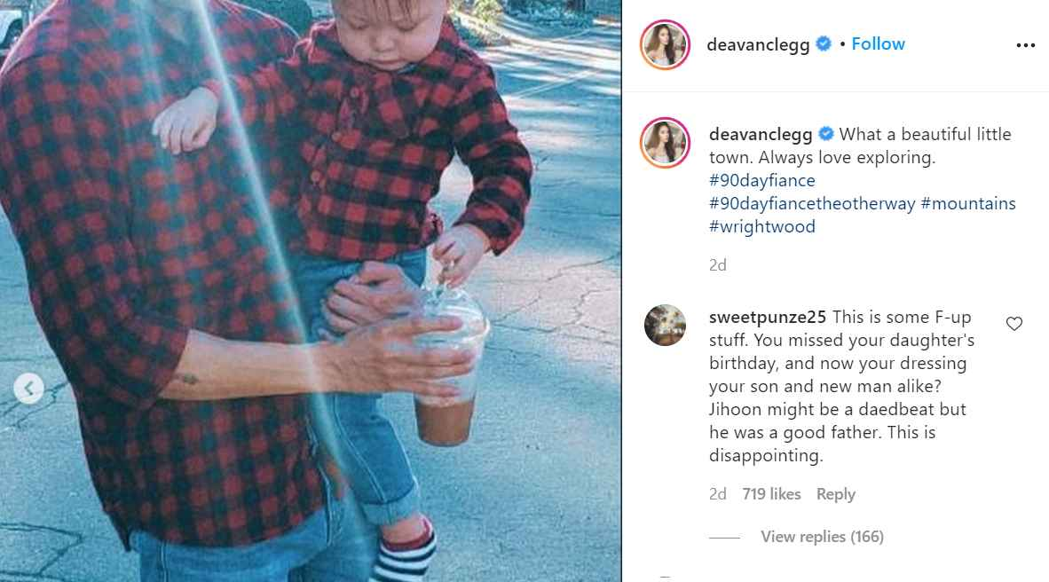 Deavan Clegg of 90 Day Fiancé posts image of Topher and Taeyang