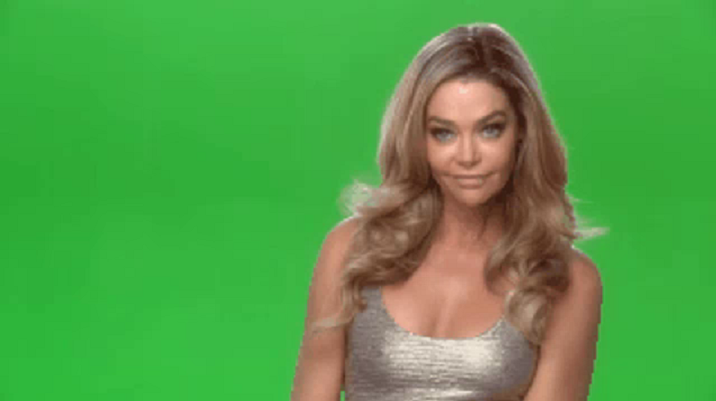 denise richards green screen youtube clip