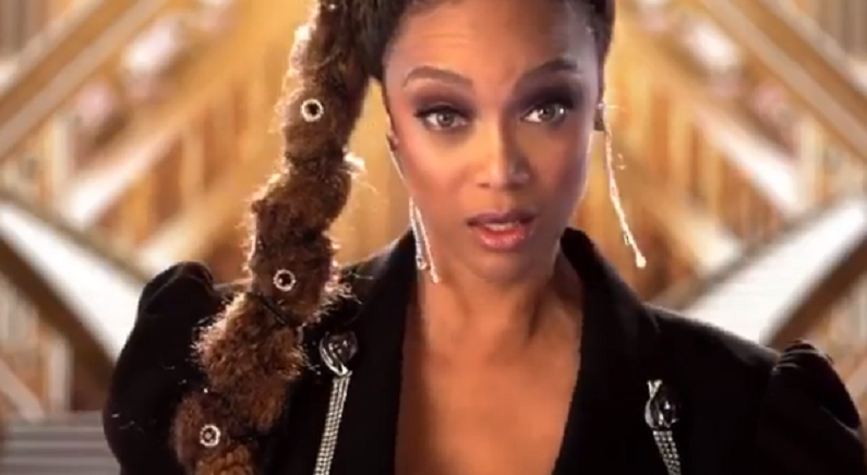 dwts clip with tyra banks
