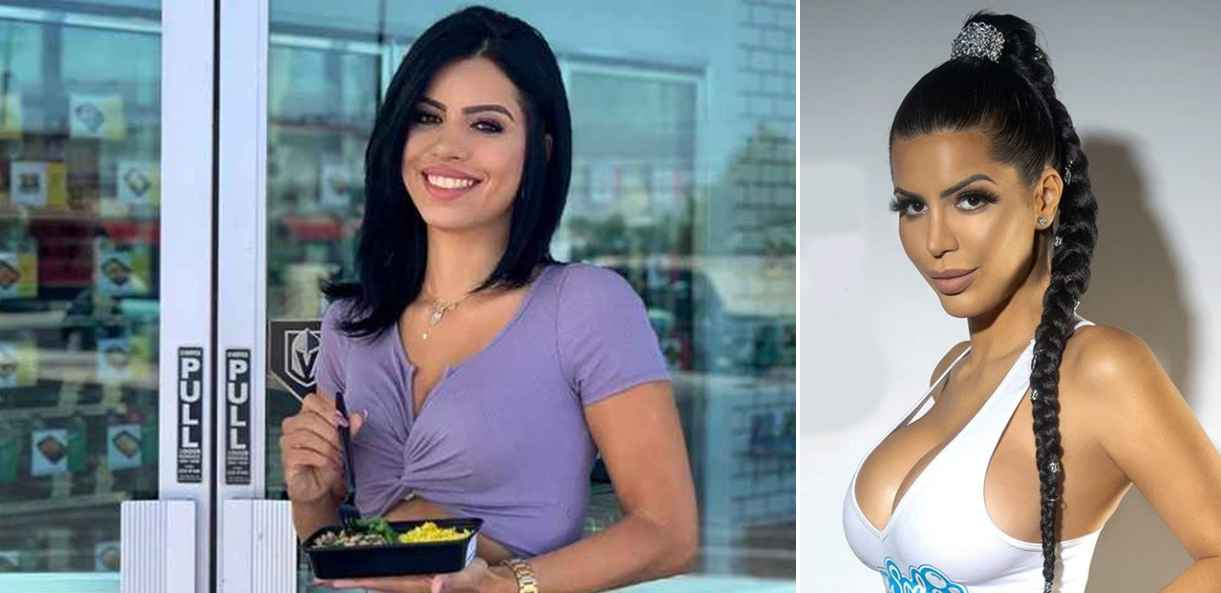 Before and after of 90 Day Fiance star Larissa Dos Santos Lima