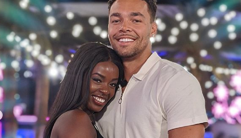 love island instagram post