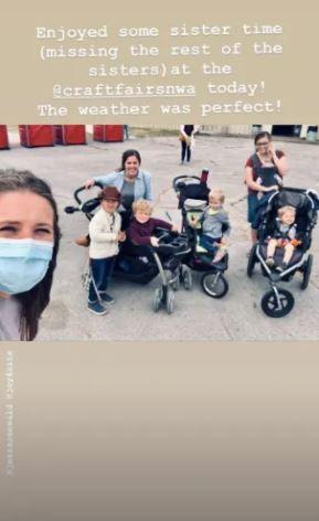 Duggar family Jill COVID-19