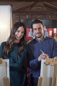 Hallmark, On the 12th Date of Christmas, Photo: Mallory Jansen, Tyler Hynes Credit: ©2020 Crown Media United States LLC/Photographer: Steven Ackerman